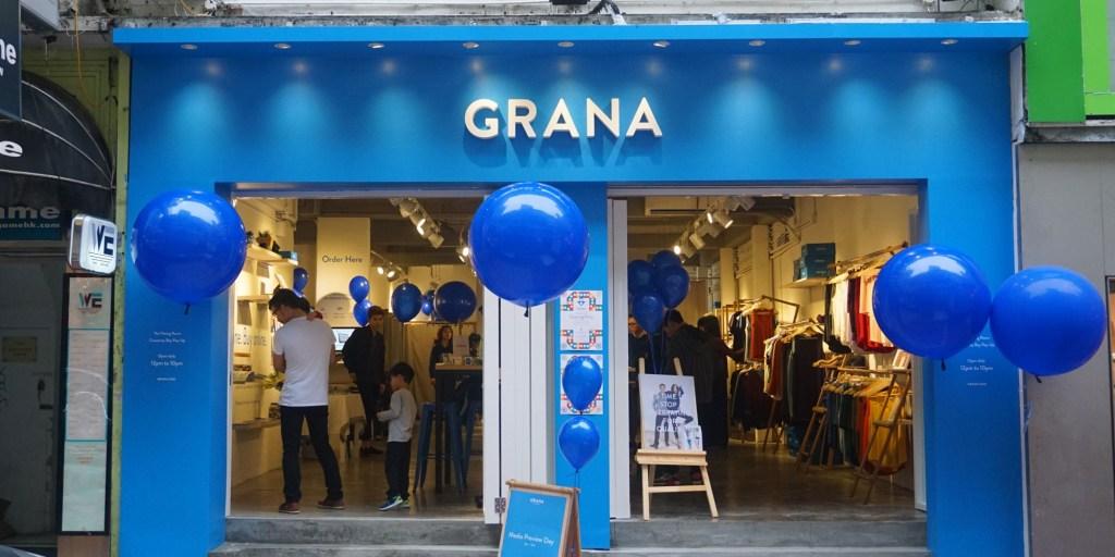 Grana store, Hong Kong| Grana
