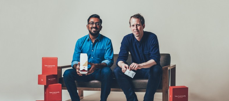 Co-founders Akash Shah and Craig Elbert now have twelve million reasons to smile | Care/of
