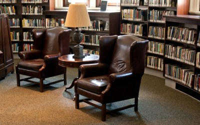 The Private and Public Oasis of the Library