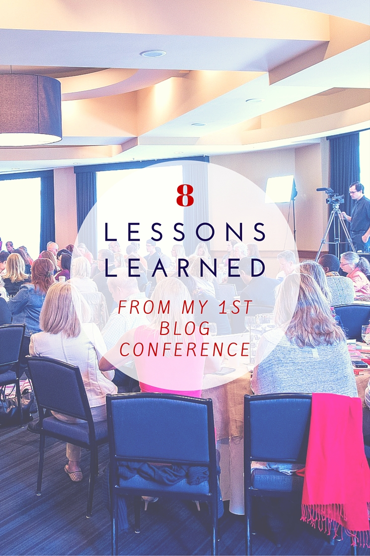 8 Lessons Learned From My First Blogger Conference