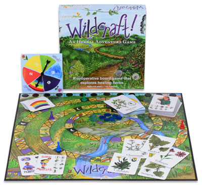 Wildcraft cooperative board game from LearningHerbs