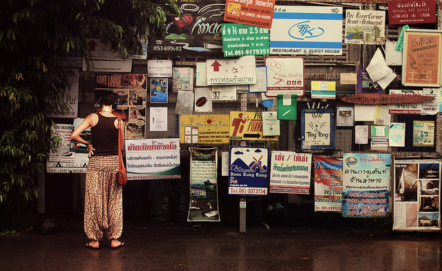 thai-notice-board, photo by by g_firkser via flickr (CC)