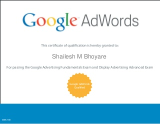 FREE Guide: How to clear the Google Adwords Certification exam?