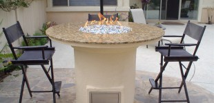 5' Bar Height Fire Pit