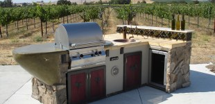Outdoor Mobile Wine Bar