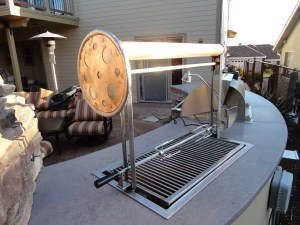 BBQ built and designed by Leasure Concepts.