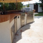 18' Outdoor Kitchen