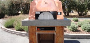 Modern Pizza Oven; Hope Family Wines