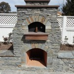 LC Oven Designs; Colonial Pizza Oven with Hy Desert Flag Stone