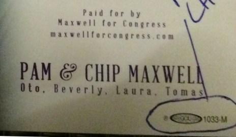 Chip Maxwell Christmas 2015_Union Bug01