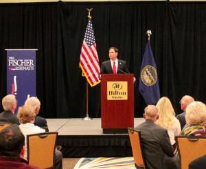Rubio endorses Fischer in 2012