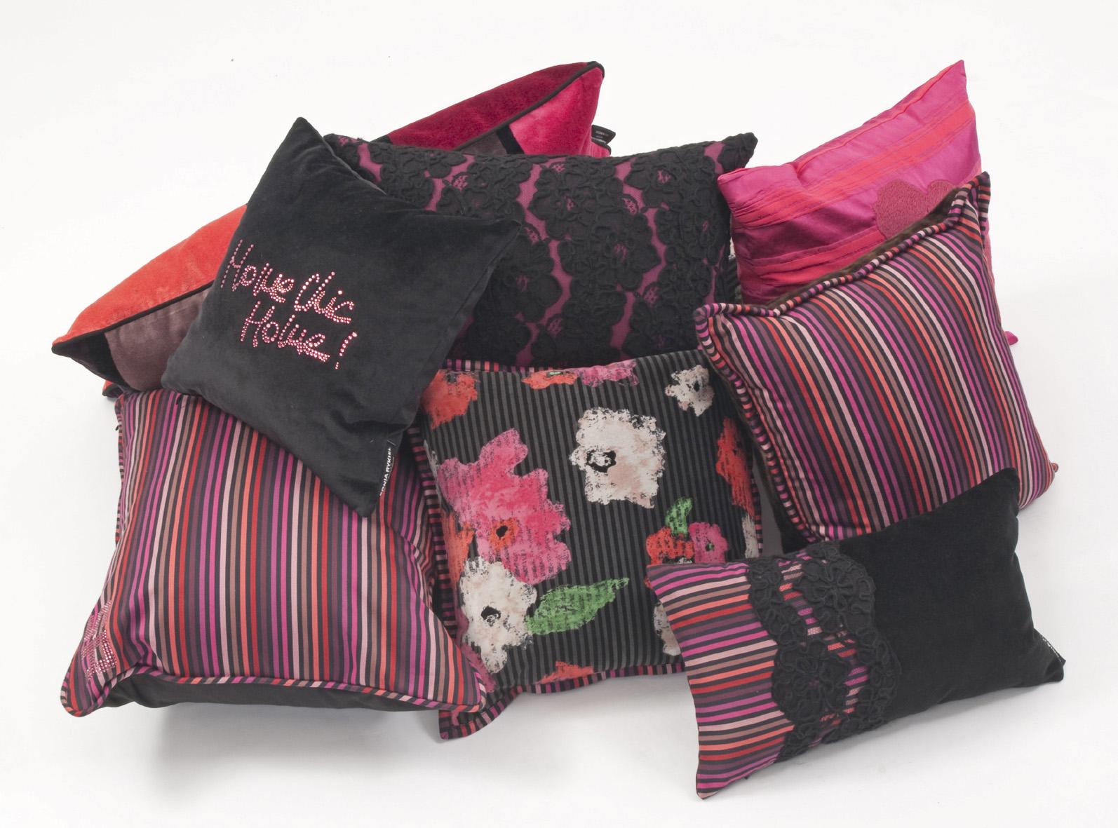 Sonia rykiel collabore avec roche bobois le blog des tendances - Coussins roche bobois ...