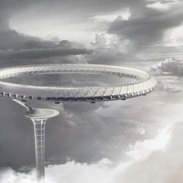 Monument Air gratte-ciel autosuffisant design