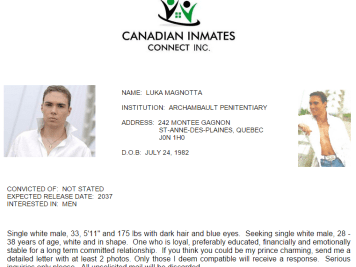 Luka Magnotta site de rencontre