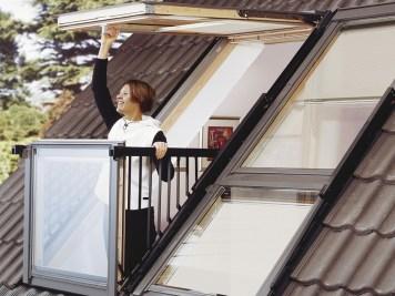fenêtre de toit Cabrio Velux