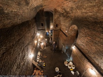 souterrains de Liverpool