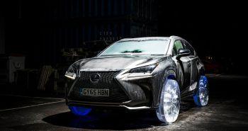 Lexus NX roue en glace