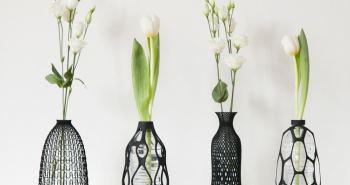 Libero Rutilo vases imprimés en 3D