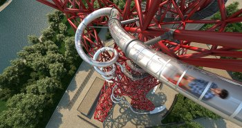 ArcelorMittal Orbit Londres Tunnel Slide
