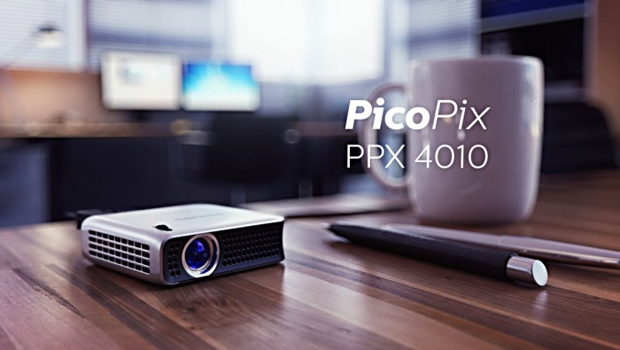 projecteur PicoPix PPX4010 Philips
