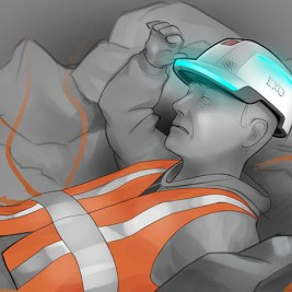 EXO vetements intelligents ouvriers