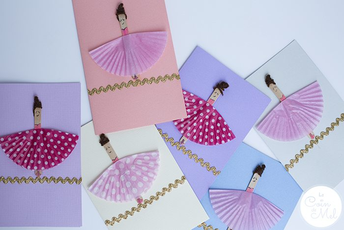 10 Minute Crafts: Ballerina Cards