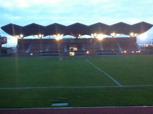 Stade Dominique-Duvauchelle  vendredi 24 janvier 2014