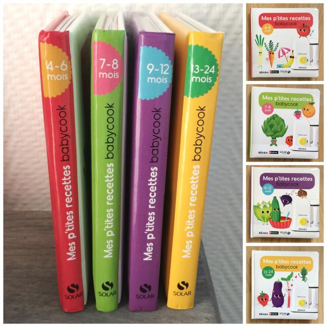 livres mes ptites recettes babycook
