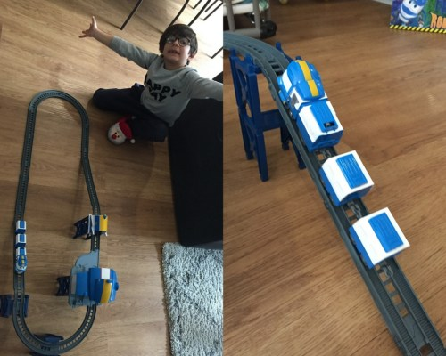 MONTAGE ROBOT TRAINS 1