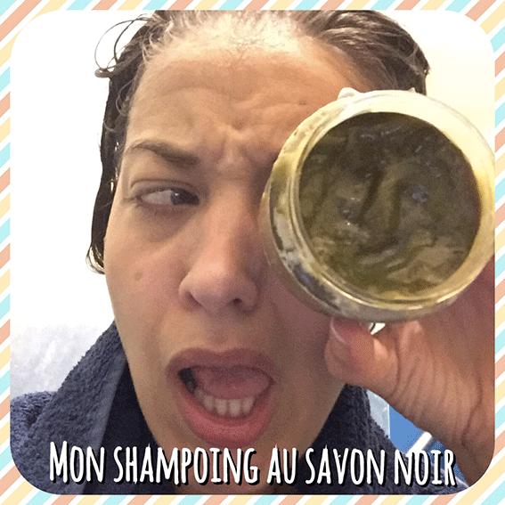 Mon 1ier Shampoing au Savon Noir