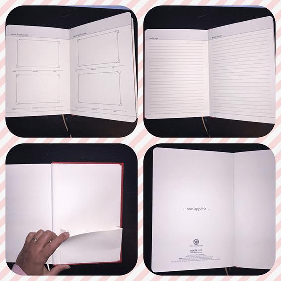 Mon livre de cuisine: My Family Cook, voila quelques pages du livre