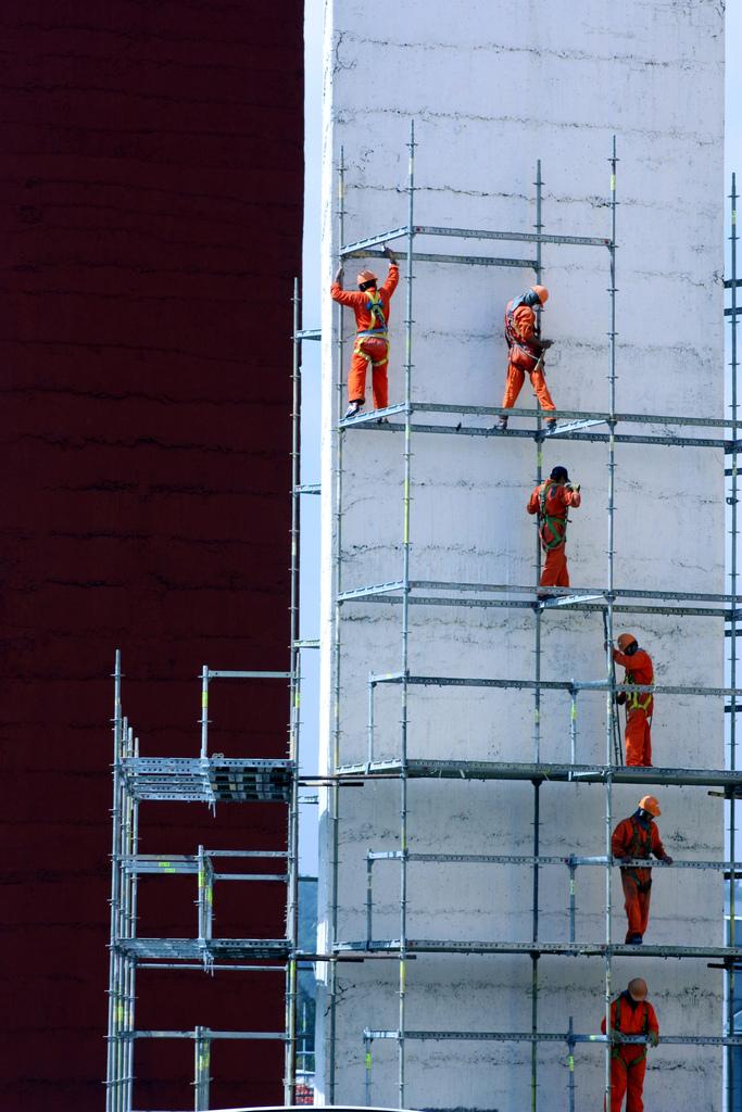 L'un des secteurs les plus touchés reste celui de la construction.-Crédits:Flickr/CCommons/XLumix
