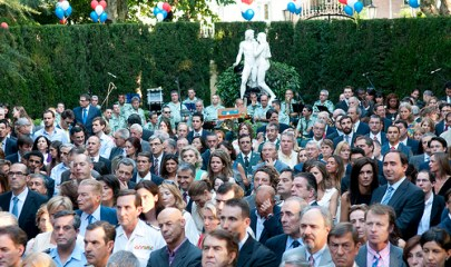 Fiesta del 14 de julio en la Embajada Francesa