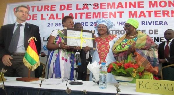 Mme Seraphine Wakana désigne la première Ambassadrice de la nutrition pour la Guinée