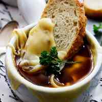 Slow Cooker French Onion Soup