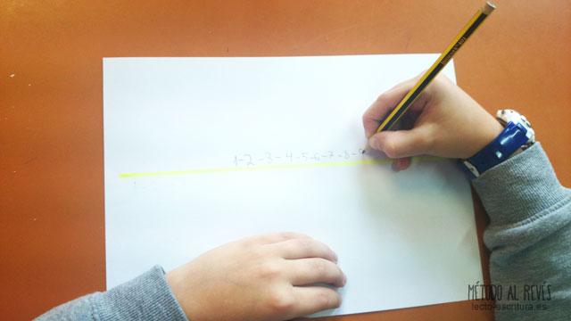 La lentitud en la escritura