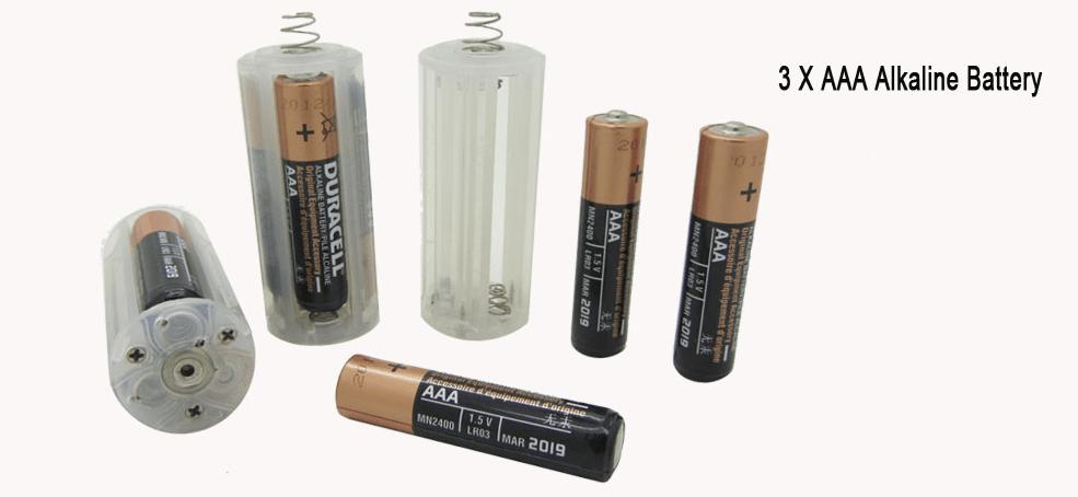 Batterij houder van de DB300 ledduiklamp