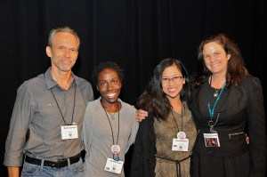 Emerging Voices Award winners