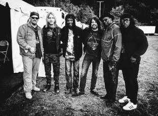 Lee Delray, Kenny Wayne Shepherd, and Bernard Allison and band