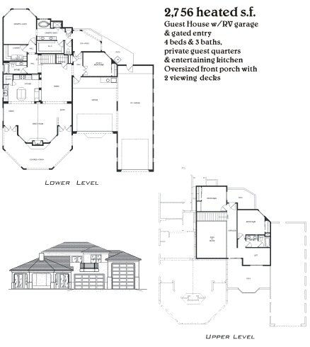 Nuevo Hacienda Home Lot and Floorplan