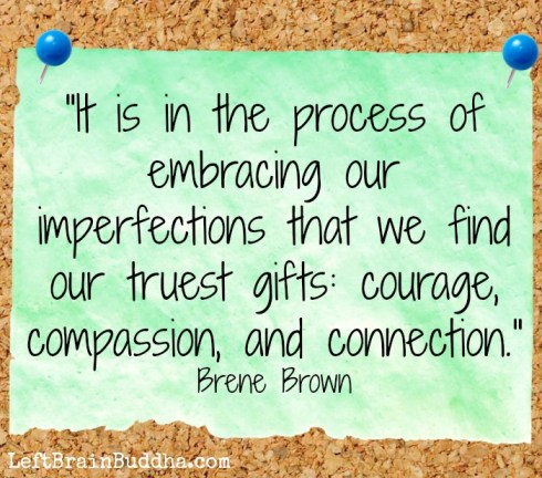 Brown imperfection