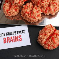 Rice Krispy Treat Brains