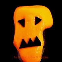 Halloween Jack-o'-lantern Slime