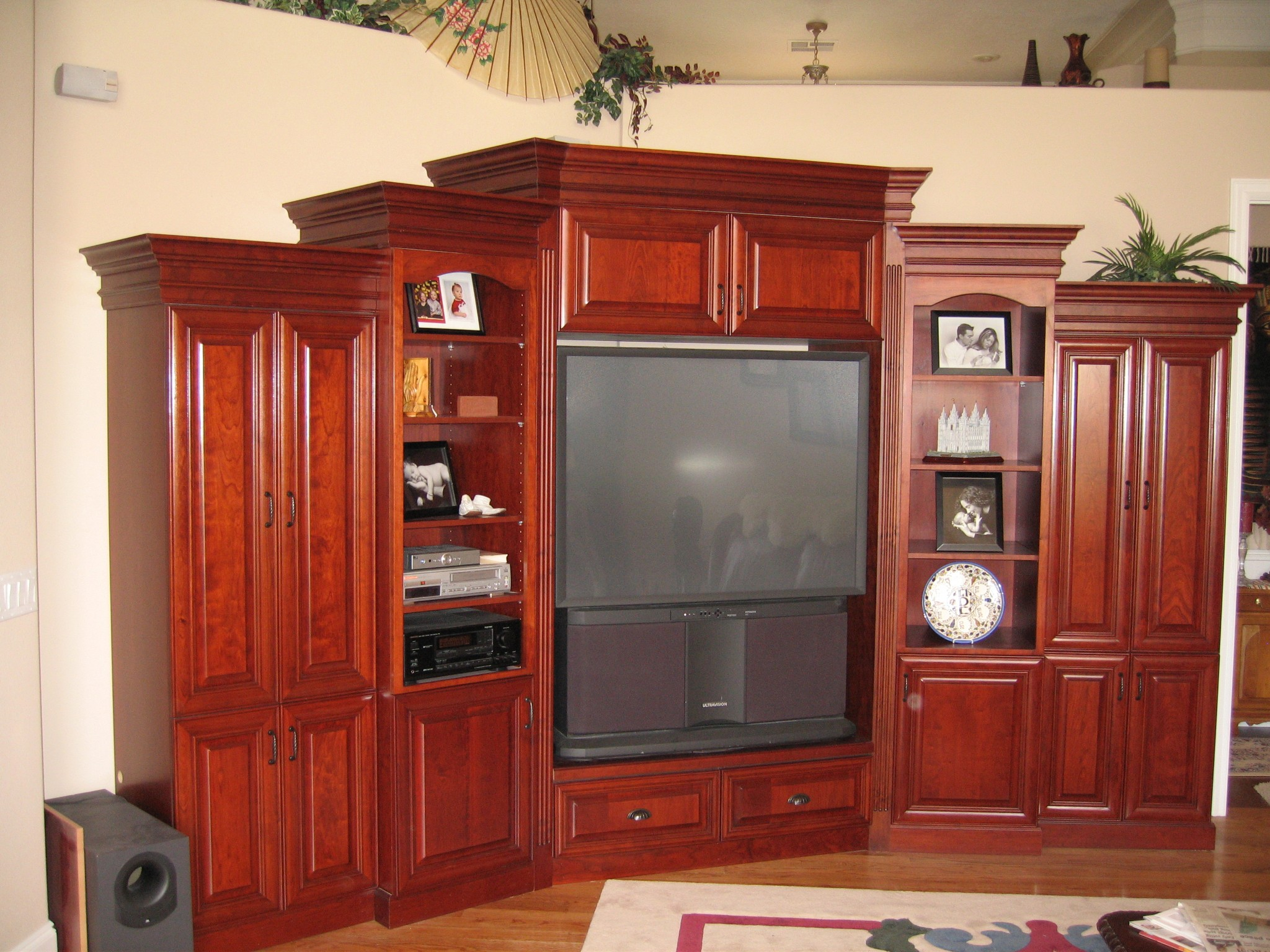 Custom Corner Entertainment Center