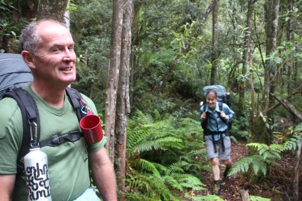 Tasmanian Hike through Wilderness