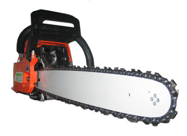 A parallel of the use of chainsaws to the Spirit-led Christian life