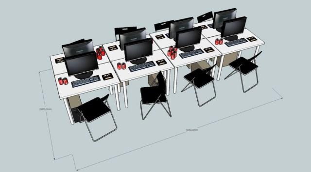 Tavolini per lan party pieghevoli leganerd - Ikea tavolini pieghevoli ...