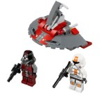LEGO Star Wars 75001 - Republic Troopers vs Sith Troopers Battle Pack