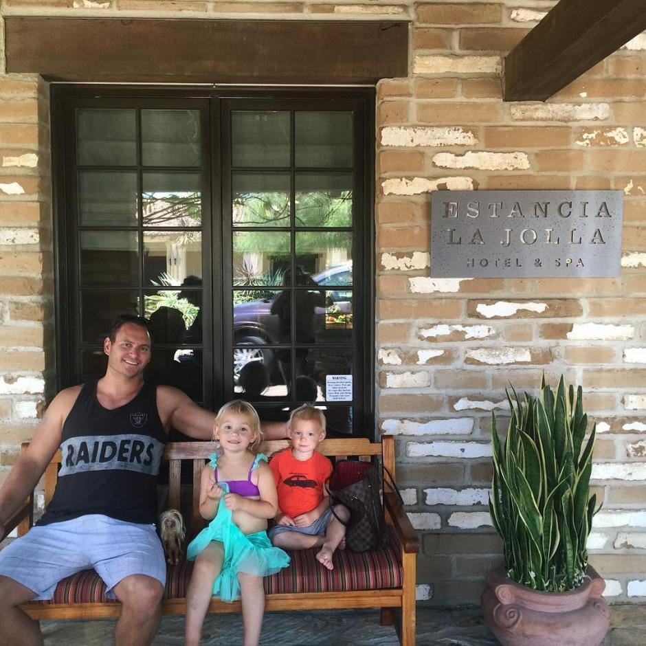 Spending an epic poolside Fathers Day at estancialajolla Did youhellip