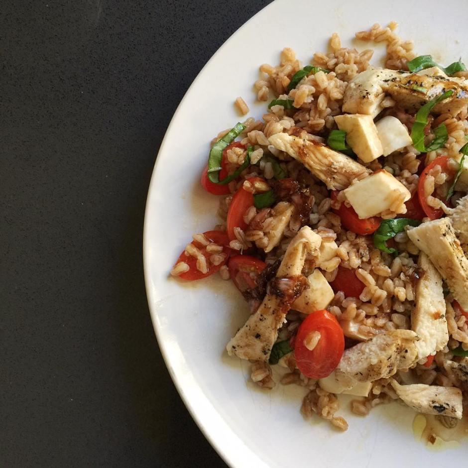 Breaking up with quinoa farro is my new super grain